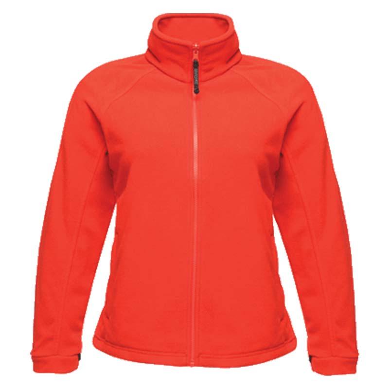 280g 100% Polyester 'Thor III' Ladies Fleece - RJAL541-red