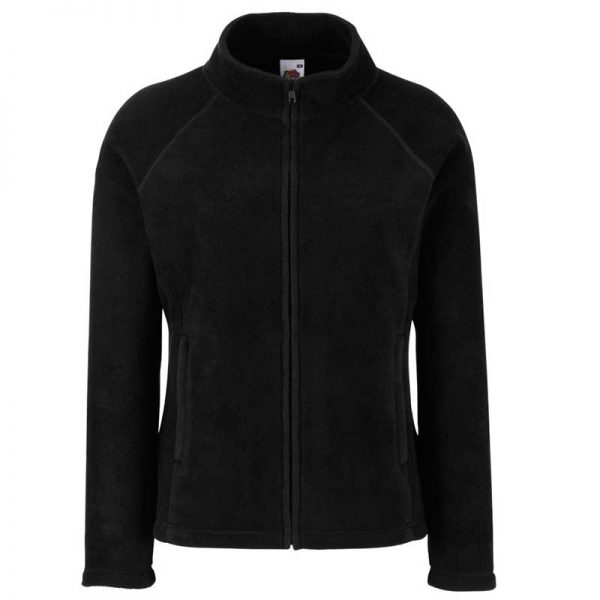 300g 100% Polyester Lady-Fit Outdoor Fleece - SFL-black