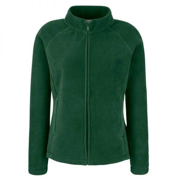 300g 100% Polyester Lady-Fit Outdoor Fleece - SFL-bottle-green