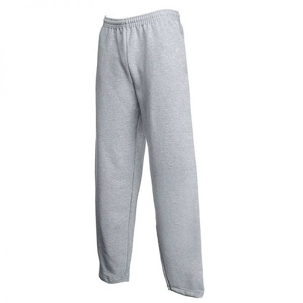 280gsm 80/20 CP Adults Open Hem Jog Pants - SJOA-grey