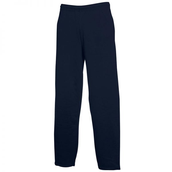 280gsm 80/20 CP Adults Open Hem Jog Pants - SJOA-navy