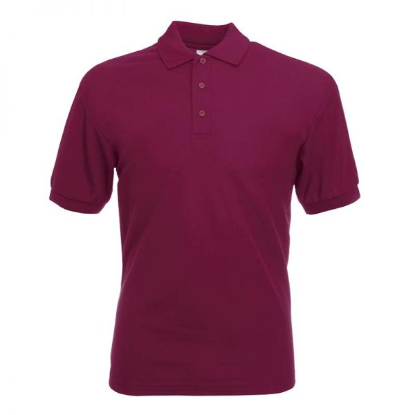 180gsm 65/35 PC Basic Polo - SPA-burgundy