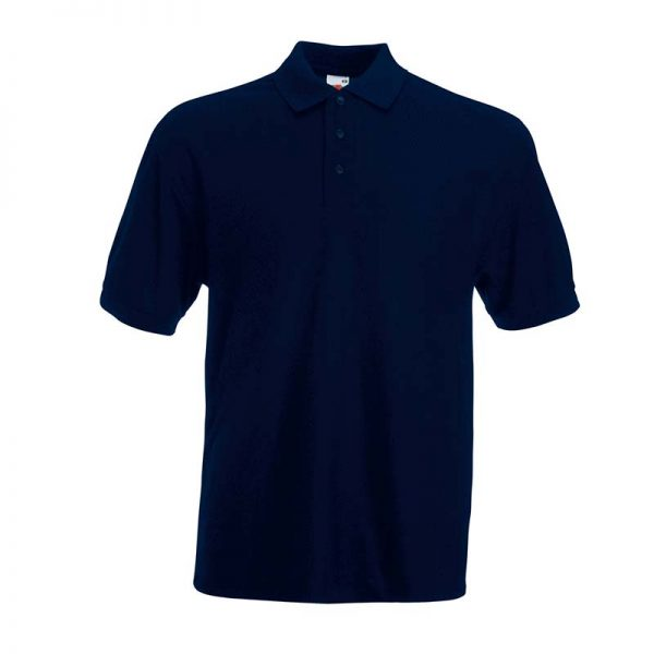 180gsm 65/35 PC Basic Polo - SPA-deep-navy