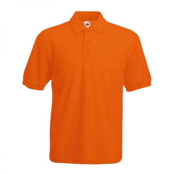 180gsm 65/35 PC Basic Polo - SPA-orange