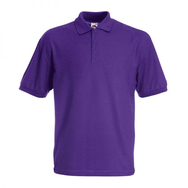 180gsm 65/35 PC Basic Polo - SPA-purple