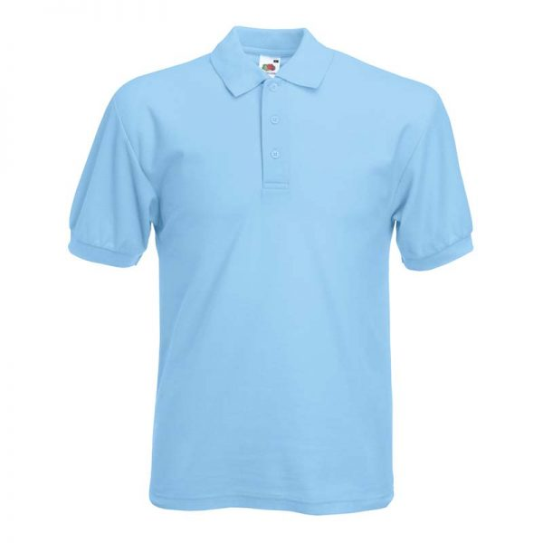 180gsm 65/35 PC Basic Polo - SPA-sky