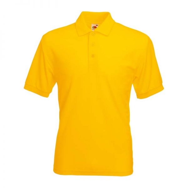180gsm 65/35 PC Basic Polo - SPA-sunflower