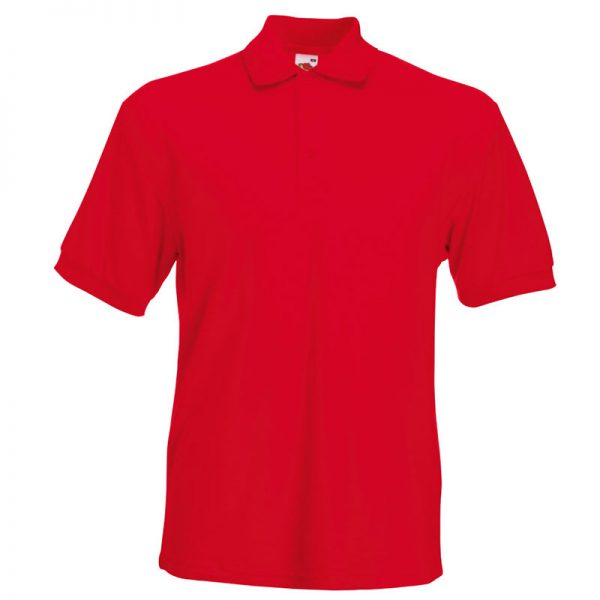 230gsm 65/35 PC Heavy Polo - SPHA-red