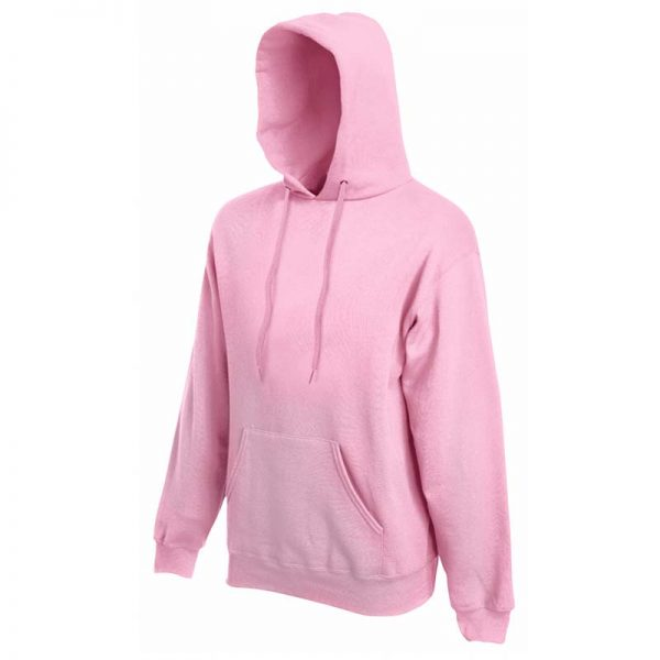280g 80/20 CP Mens Classic Hooded Set-in Sweat - SSHA-light-pink