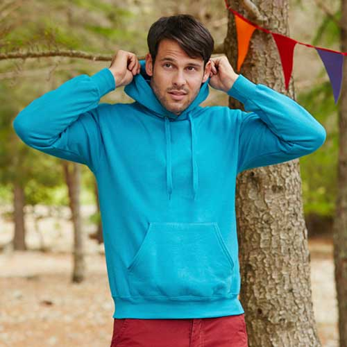 280g 80/20 CP Mens Classic Hooded Set-in Sweat - SSHA