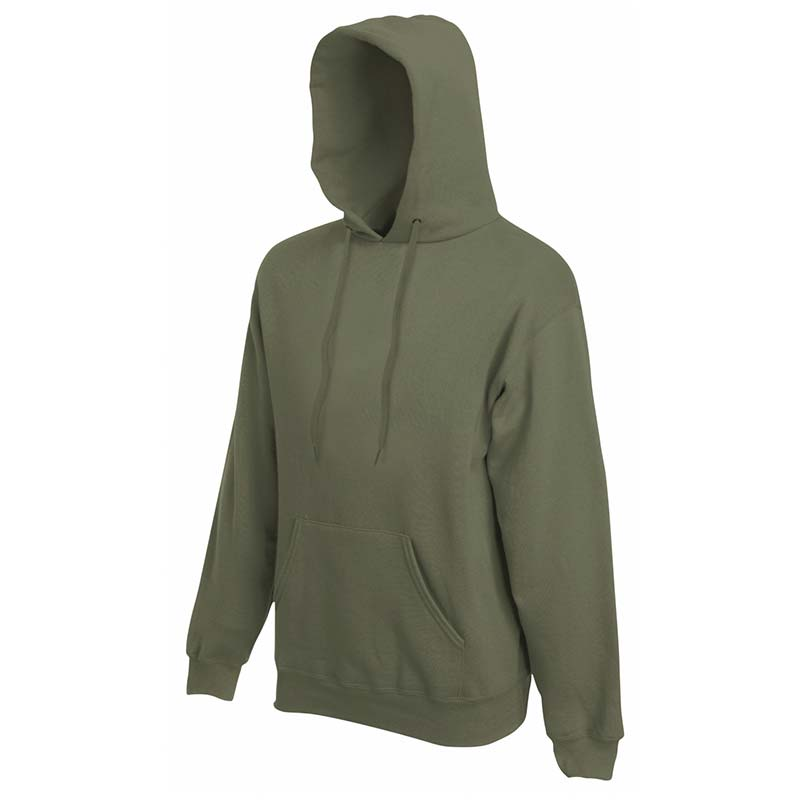 280g 80/20 CP Mens Classic Hooded Set-in Sweat - SSHA-olive