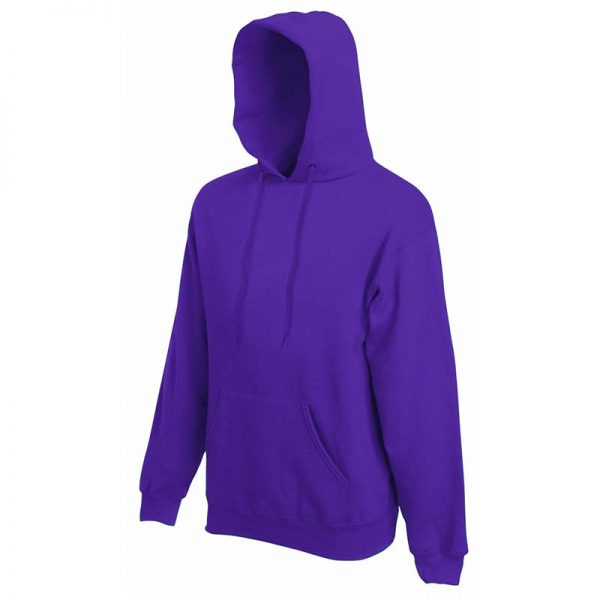 280g 80/20 CP Mens Classic Hooded Set-in Sweat - SSHA-purple