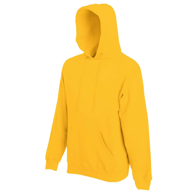 280g 80/20 CP Mens Classic Hooded Set-in Sweat - SSHA-sunflower
