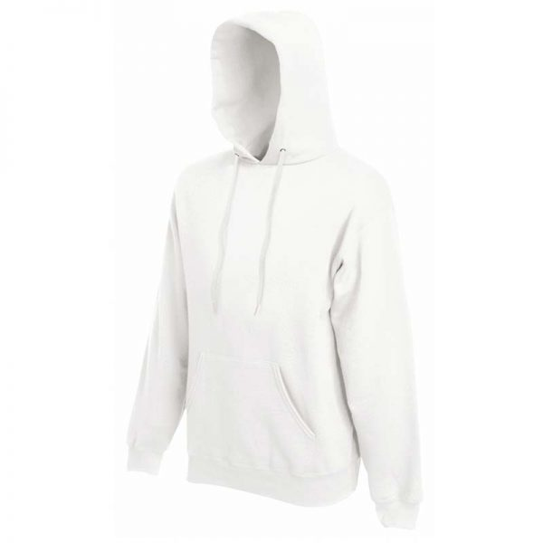 280g 80/20 CP Mens Classic Hooded Set-in Sweat - SSHA-white
