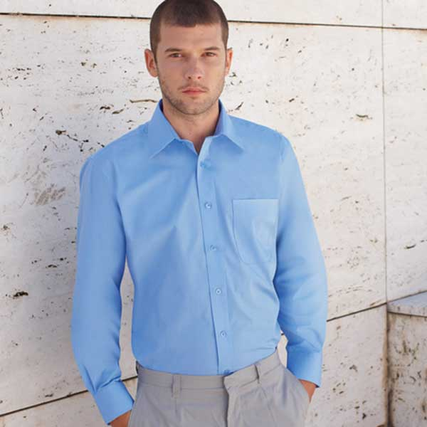 120g 55/45 CP Poplin Shirt Long Sleeve - SSHLPA