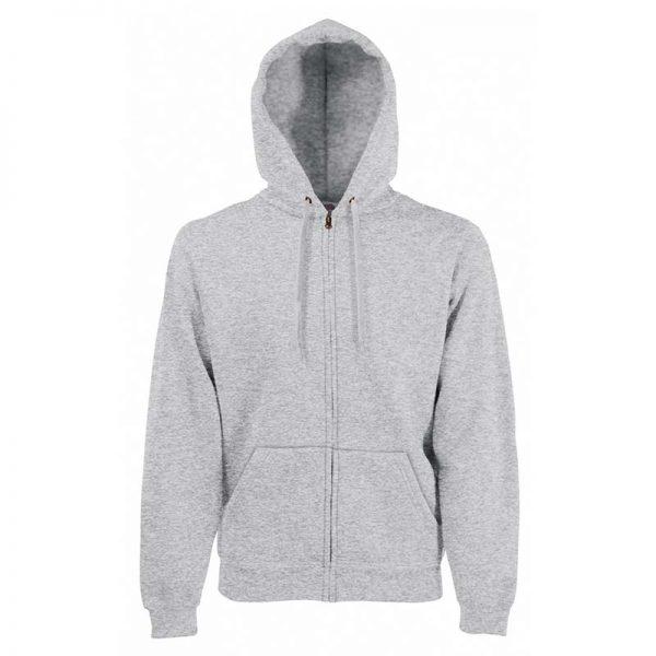280g 70/30 CP Hooded Sweat Premium Jacket - SSHZA-heather