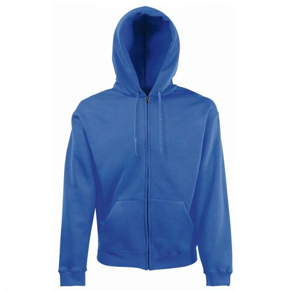 280g 70/30 CP Hooded Sweat Premium Jacket - SSHZA-royal-blue