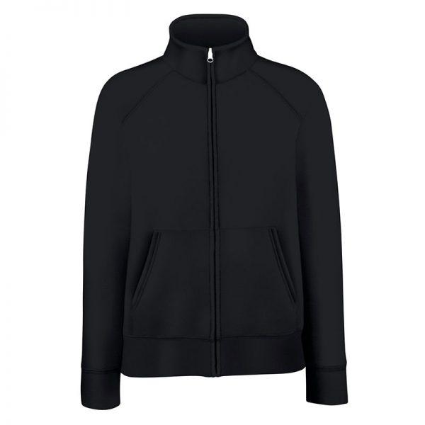 280g 70/30 CP Lady-Fit Premium Sweat Jacket - SSZL-black