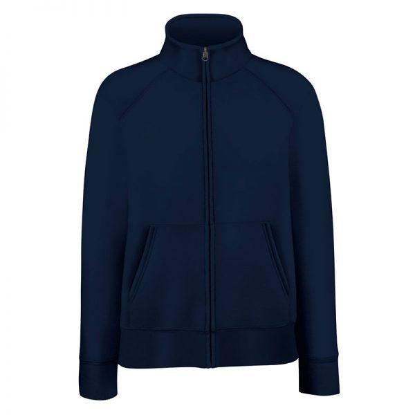 280g 70/30 CP Lady-Fit Premium Sweat Jacket - SSZL-deep-navy