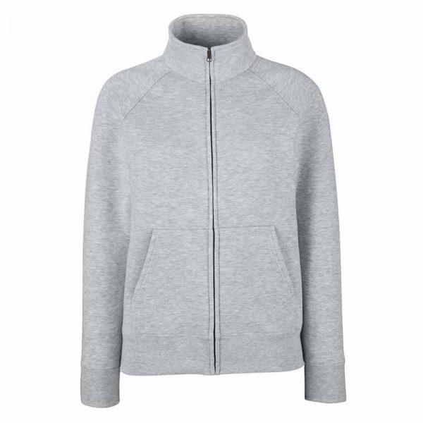 280g 70/30 CP Lady-Fit Premium Sweat Jacket - SSZL-heather