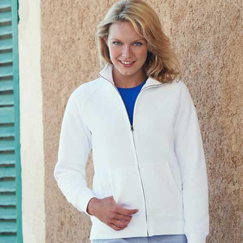 280g 70/30 CP Lady-Fit Premium Sweat Jacket - SSZL