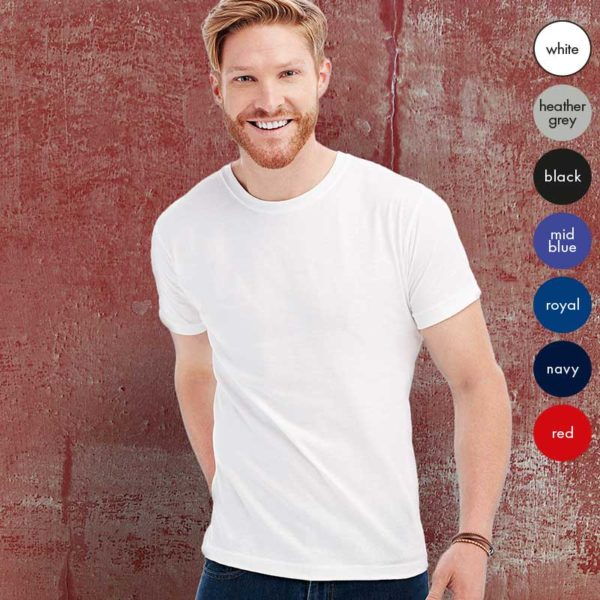 155gsm 100% Ring-Spun Cotton, Single Jersey Classic T Short Sleeve - ST2000