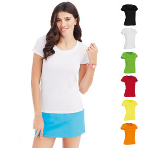 160g 100% ACTIVE-DRY Polyester, Cotton Touch Ladies ACTIVE Sports T Short Sleeve - ST8700