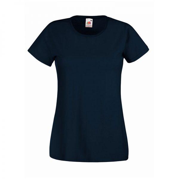 165gsm 100% Cotton, Belcoro® Yarn Lady-Fit Valueweight Crew Neck T Short Sleeve -STVL-deep-navy