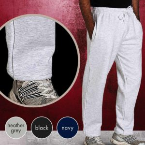 TJA02-280g 50/50 PC Premium Open Hem Jog Pants