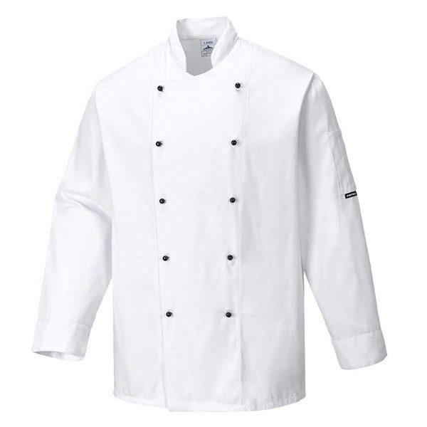 190g Somerset Chefs Jacket - WCJA834-white