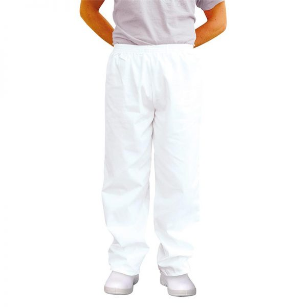 190gsm 65/35 PC Baker Trousers Regular - WCTRA2208-white