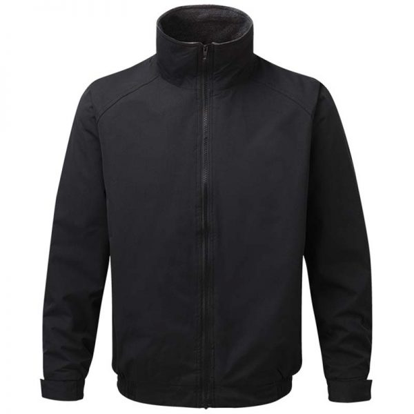 Harris Fleece-Lined Peached Waterproof Jacket - WJAA262-black