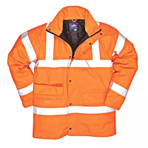 190g Hi-Vis Traffic Waterproof Jacket - WJAA30R