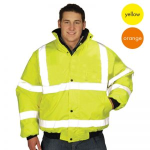 Hi Vis Value Bomber Jacket-WJAA370