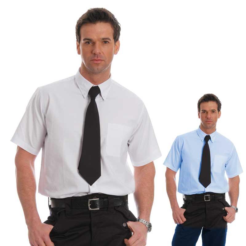 135gsm Oxford Shirt Short Sleeve - WSHA06