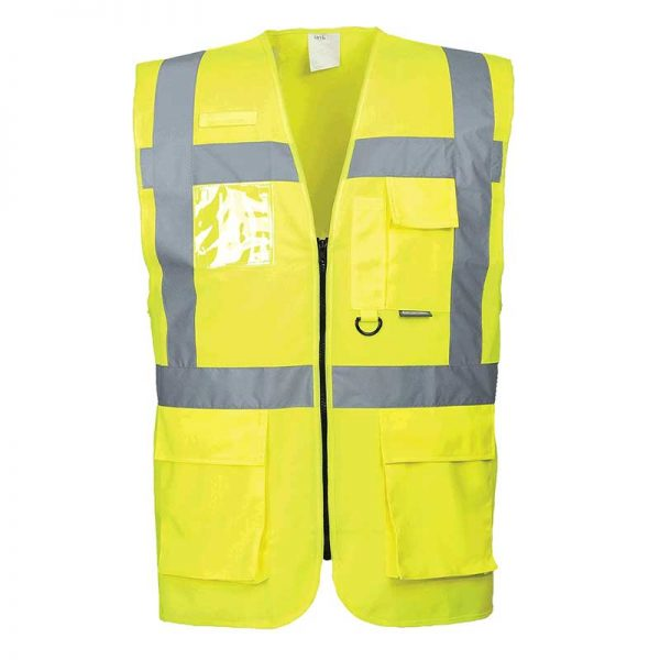 Hi-Vis Berlin Executive Vest - WWCA476-yellow