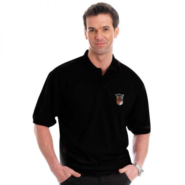 210g 50/50 PC Mid-Weight Bell Baxter Pique Polo - TPA02-sweat-black