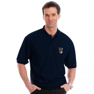 210g 50/50 PC Mid-Weight Bell Baxter Pique Polo - TPA02-sweat-navy