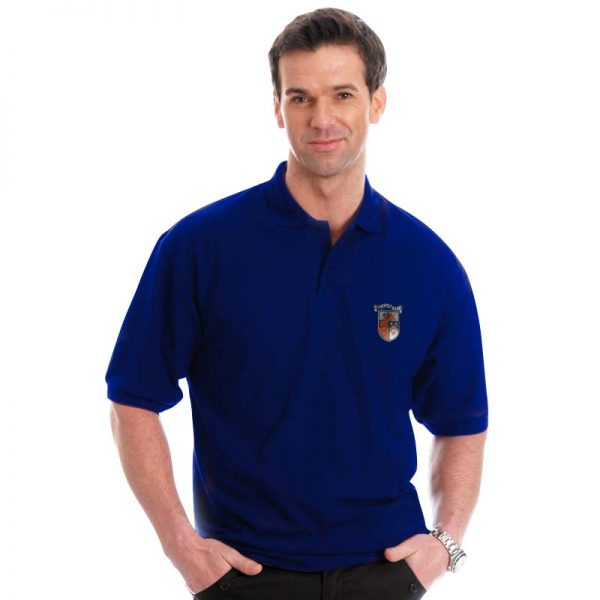 210g 50/50 PC Mid-Weight Bell Baxter Pique Polo - TPA02-sweat-royal