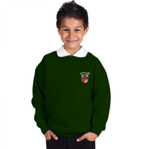300g 70/30 CP Kids Premium Hi-Spec Set-In Bell Baxter Crew Sweatshirt - TSK01-sweat-bottle