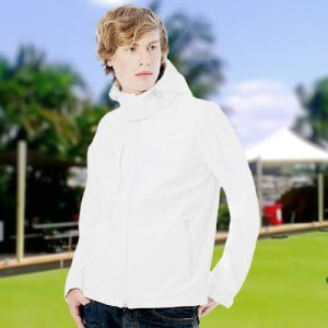 Mens Hooded Softshell Bowling Jacket - BA630BOWLS