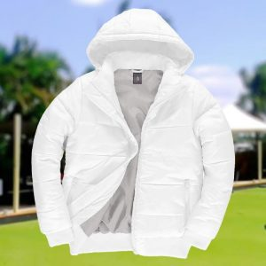 60gsm + padding 100% Polyester Mens Down Superhood Bowling Jacket - BA657BOWLS