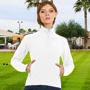 300gsm 96/4 PE B&C Ladies Softshell Bowling Jacket - BA661FBOWLS