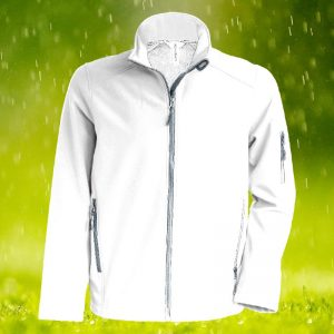 300gsm 95/5 PE Contemporary Softshell Bowling Jacket - KB401BOWLS