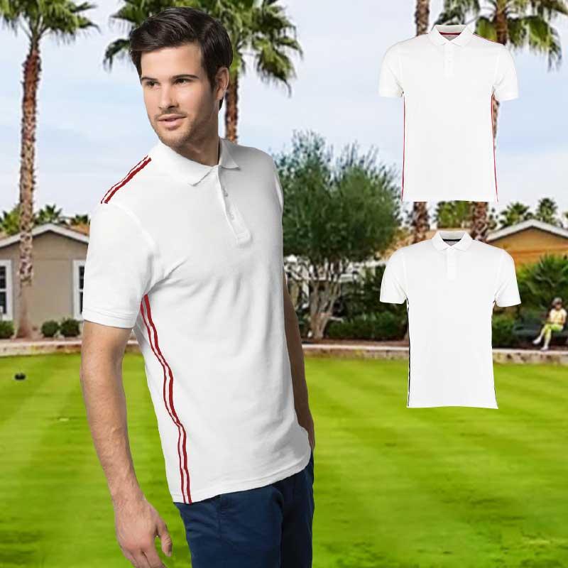 210gsm 100% Cotton Slim Fit Team Style Bowls Polo - KK603BOWLS