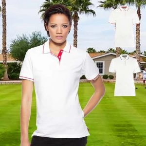 210gsm 100% Cotton Ladies St Mellion Bowls Polo - KK706BOWLS