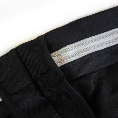 Mens Police Poly-Cotton Trousers Black - WTRPA49-details2