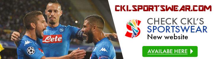 NEW CKL Sportswear Website