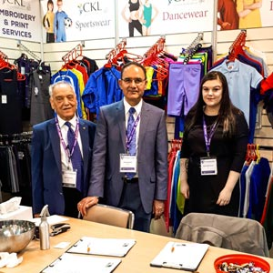 CKL at Schoolwear Schow in Birmingham 2018