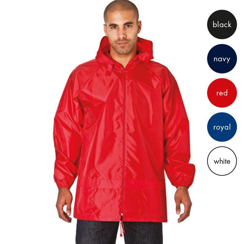 Pack-Away Showerproof Kagoul - TJAA03 - red